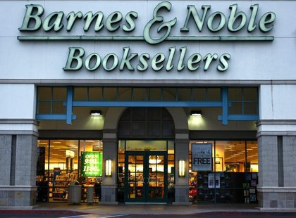 A Barnes and Noble book store is shown here in Encinitas May 20, 2008. Barnes & Noble, Inc. (BKS) will report first quarter earnings May 22,