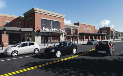 A look at the latest Walmart rendering released on Thursday, May 8, 2014. (Photo from: Walmart).
