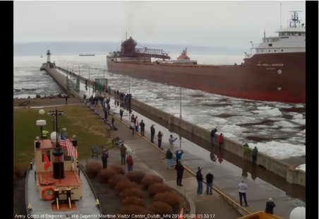 James L. Oberstar (from LSMMA Webcam)