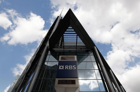 A Royal Bank of Scotland building in London April 7, 2009. REUTERS/Stephen Hird