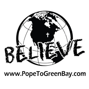 Logo of Pope to Green Bay Committee (Photo from: Facebook).