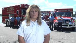 Tracey Kujawa, former Stevens Point Fire Chief, became Wausau Fire Chief 5/12/14.
