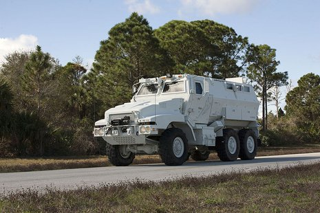 Mine Resistant Ambush Protection Vehicle