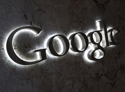 A Google logo is seen at the entrance to the company's offices in Toronto September 5, 2013. REUTERS/Chris Helgren (