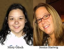 Misty Glisch and Jessica Hartwig