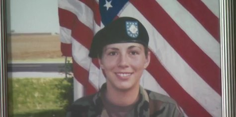 Photo of Kiel native, Sgt. Heidi Ruh, who was killed in the line of duty in Kosovo. (Photo from: FOX 11/YouTube).