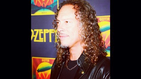 Image courtesy of Courtesy Kirk Hammett via Instagram (via ABC News Radio)