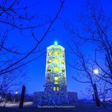 Enger Tower in turquoise (Silverness Photography)