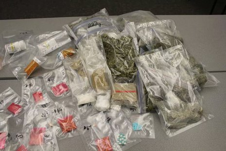 Drugs seized in north Fargo raid