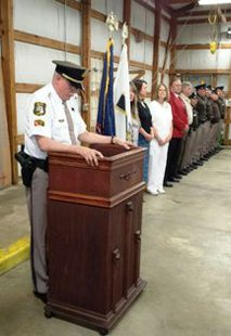 Branch County Sheriff's Department ceremony May 14, 2014 in Coldwater MI