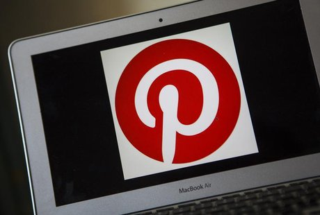 A portrait of the Pinterest logo in Ventura, California December 21, 2013. REUTERS/Eric Thayer