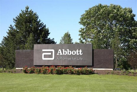 Abbott Laboratories' global headquarters in Abbott Park, Illinois is seen in an undated handout photo. REUTERS/Handout via Abbott Laboratori
