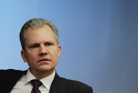 Arthur Sulzberger, Jr., chairman of The New York Times Company, listens at the Reuters Global Media Summit in New York, November 30, 2010. R