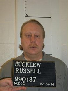 Death row inmate Russell Bucklew is shown in this Missouri Department of Corrections photo taken on February 9, 2014. REUTERS/Missouri Depar