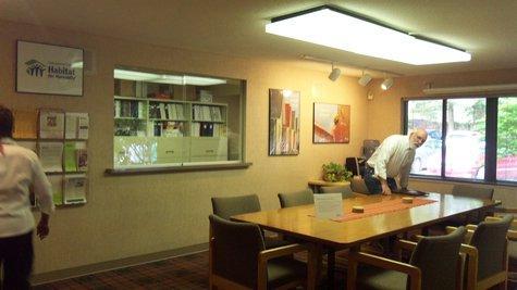 Habitat conference room