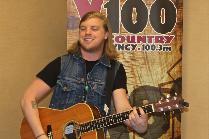 New Capitol Recording Artist, Joey Hyde at Y100