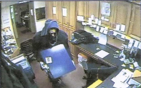 Suspect in burglary at AmericInn in Valley City
