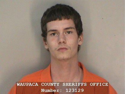 Jesse McLamarrah (Photo from: Waupaca County Sheriff's Department).