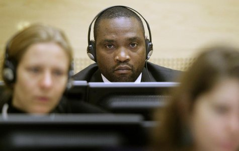 Congolese warlords Germain Katanga sits in the courtroom of the International Criminal Court in The Hague November 24, 2009. REUTERS/Michael