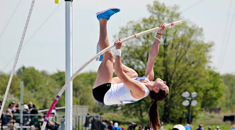 Bridget Gross claims 2nd in the NCAA Division II Outdoor championships, Image courtesy USF