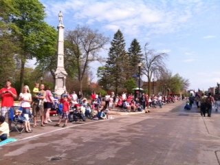 Good crowds turnout for parade
