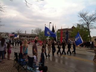 2014 Parade gets underway
