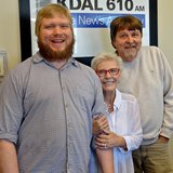 Academy Award-Winning Actress Patty Duke with KDAL's David Kuharski & Dave Strandberg