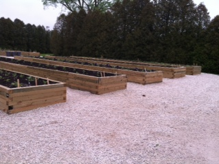 The garden beds are on WPS property, but leased to Meals on Wheels to grow vegetables for meals.