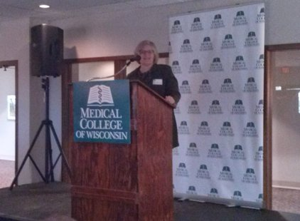 Dr. Lisa Grill Dodson, dean of the Medical College of Wisconsin - Wausau (taken by Raymond Neupert, May 28, 2014)