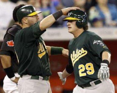 Oakland Athletics 3B Josh Donaldson REUTERS/Mike Cassese