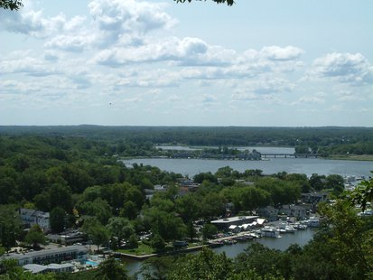 A view of Saugatuck