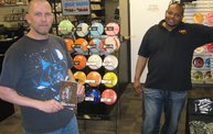 Q106 at Disc Traders - Battle Creek (5-24-14) 16