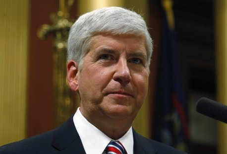 Michigan Governor Rick Snyder asked legislators to update a civil rights law to prohibit discrimination because of sexual orientation or gender identity on Thursday. (Photo : Reuters)