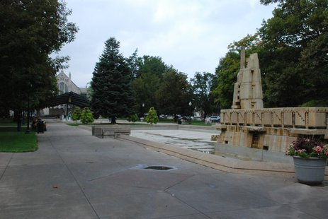 Bronson Park in Kalamazoo.