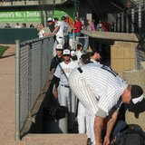 Wisconsin Woodchucks dugout