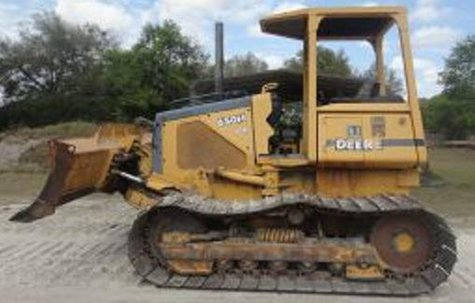 This is not the stolen bulldozer, but one just like it is missing.