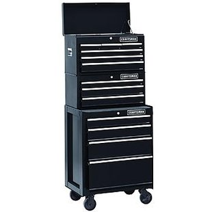 Craftsman Tool Chest missing.