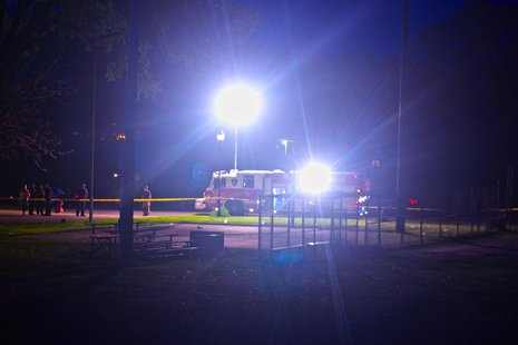 Police respond to Kiwanis Park (Courtesy of Sheboygan Night Scanner)