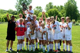 2014 Quincy High School Girls Soccer District Championship Team