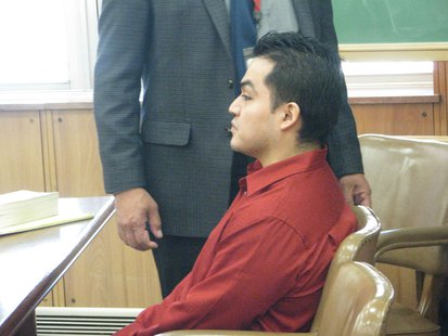Reymundo Perez in court for trial