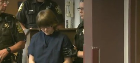 12-year-old suspect Anissa E. Weier is accused of helping to stab a 12-year-old friend 19 times. (Photo from: FOX 11/YouTube).
