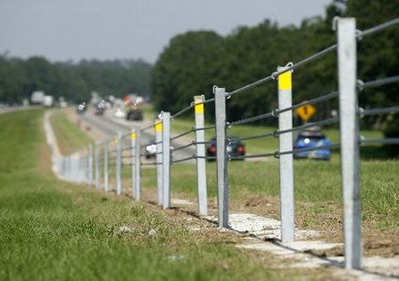cable barrier file photo