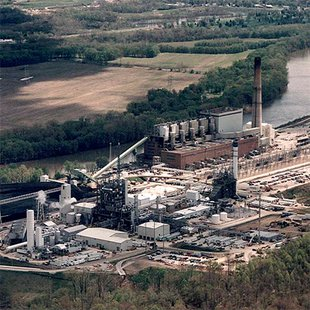 Duke Energy Wabash Generating Station in Vigo County. The coal fired facility is slated to all but close due to new regulations.