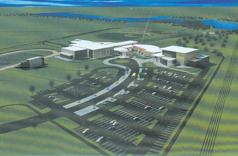 Paris High School Architect Rendering