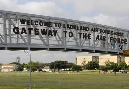 Lackland AFB, Texas has been transformed into a holding and processing center for thousands of children illegally crossing the border from Central and South America without adults.