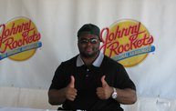 B.J. Raji at the new Johnny Rockets in Oshkosh 6