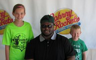 B.J. Raji at the new Johnny Rockets in Oshkosh 5