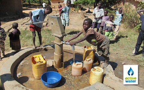 The organization provides access to clean water where none exists now