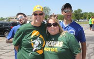 Jake & Tannr Photobombs at Jordy Nelson Charity Softball Game 14