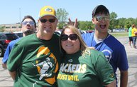 Jake & Tannr Photobombs at Jordy Nelson Charity Softball Game 13